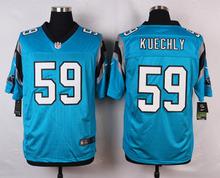 100% Stitiched,Carolina Panthers Luke Kuechly for mens(China (Mainland))