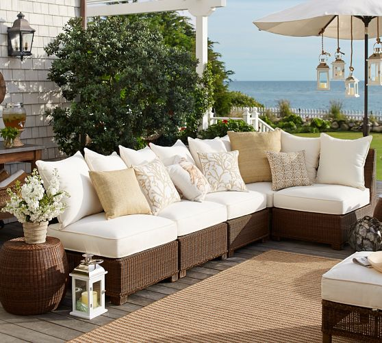 2016 All weather home furniture comfortable outdoor rattan furniture garden sofa(China (Mainland))