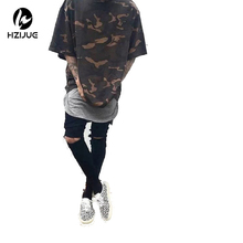 Buy HZIJUE 2017 Camo Tee Hip Hop Fashion Mens T-Shirt Military Camouflage Men Short Sleeve O-Neck T Shirt Streetwear S-XXXL for $10.32 in AliExpress store