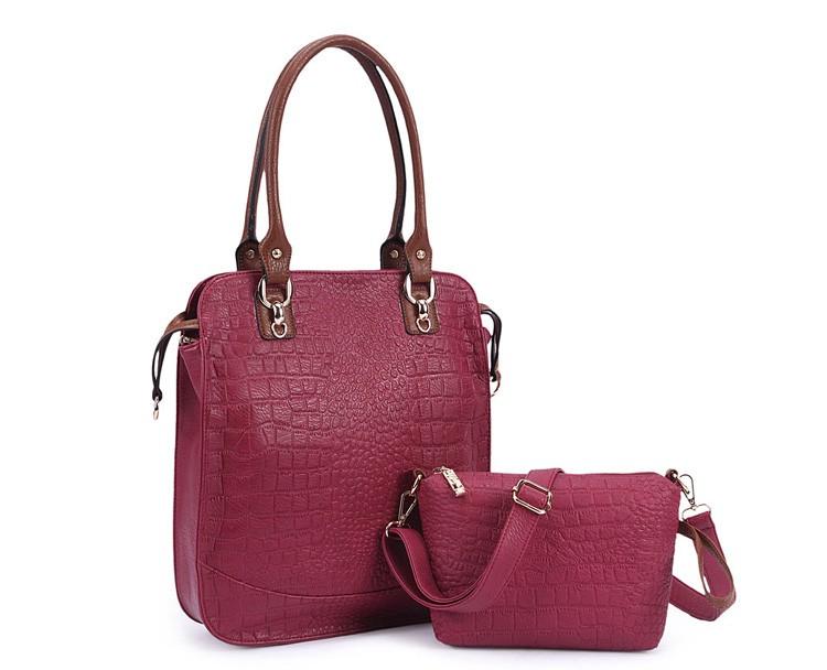 New  women bag high quality elegant composite PU leather handbag fashion  women messenger bags 2015 shoulder bag bolsos BH846 (16)