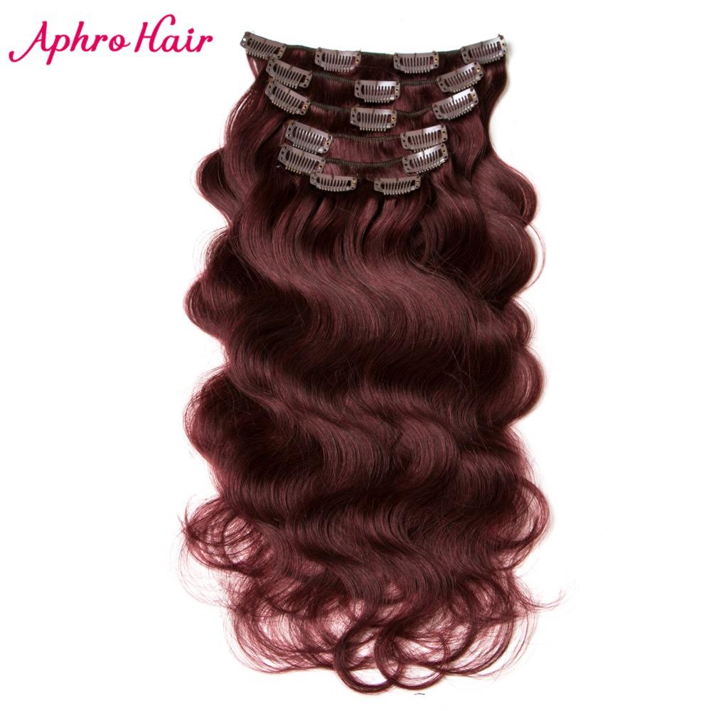 Popular burgundy clip in human hair buy cheap burgundy clip in burgundy clip in human hair pmusecretfo Gallery