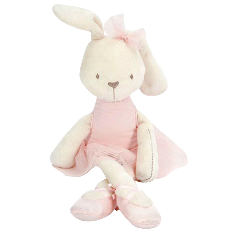 Cute 42cm Large Soft Stuffed Animal Bunny Rabbit Toy For Baby Girl Kid Gift(China (Mainland))