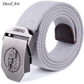 2016 New Arrival Men s Canvas Belt Pistol Buckle Military Belt Army Tactical Belts For Male