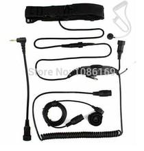 10pcs 1 Pin PTT VOX Adjustable Volume Throat OR Forehead MIC Walkie talkie Motorola 2.5mm T6200 T6210 T6400