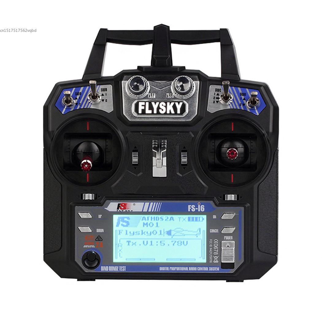 FAV Receiver RC Helicopter Quadrocopter T6 FLYSKY Mode 2 + FS i6 2.4G 6ch Transmitter 22