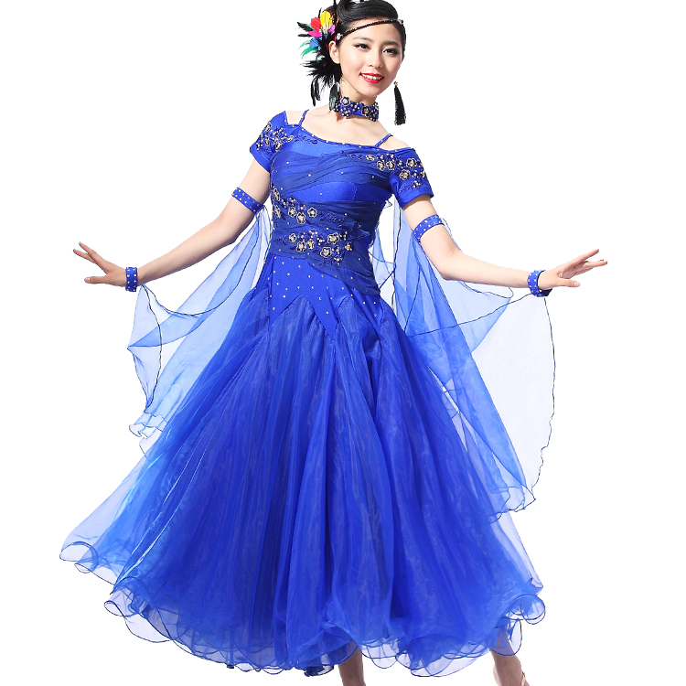 Colors for selection lady ballroom dance costumes modern dance dress