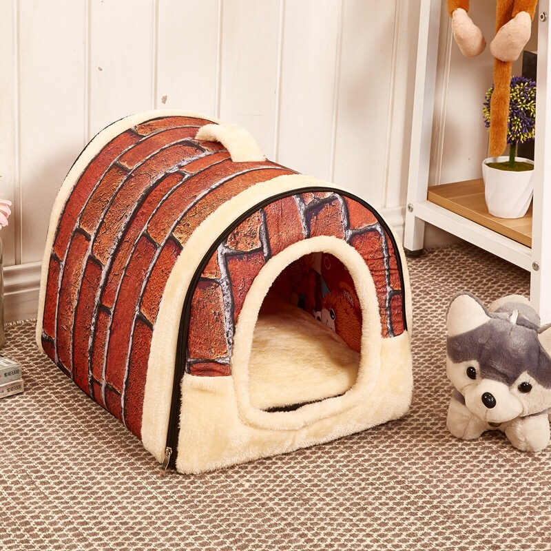 Free Shipping Doghouse New 2016 Pet Product Pet Beds Soft Dog House Product Animal Pet House Hot Sales Dog Products(China (Mainland))