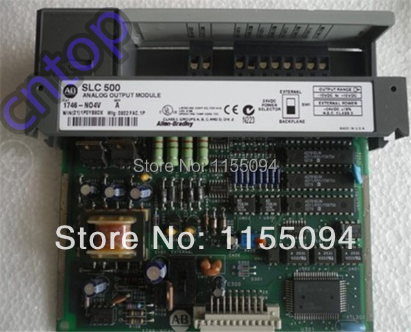 Free shipping New original 1746-NO4V    Allen-Bradley  PLC 55mA  4 Number of Outputs Analog Output Modules<br><br>Aliexpress