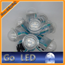 26mm  LED Pixel Light  with Clear Transparent  Case USC1903  LED Pixel Module for Outdoor Use(China (Mainland))