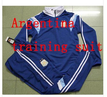 15/16 Argentina Training suit soccer top pants long sleeve tracksuits football jerseys jersey - Professional Store NO.1 store