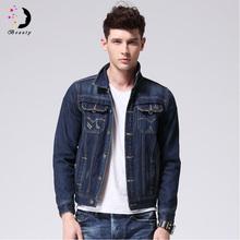 New Arrivals 2016 Brand Jeans Jacket Men Slim Fit Male Fashion Jacket Casual Denim Jackets Autumn For Men Chaqueta Hombre