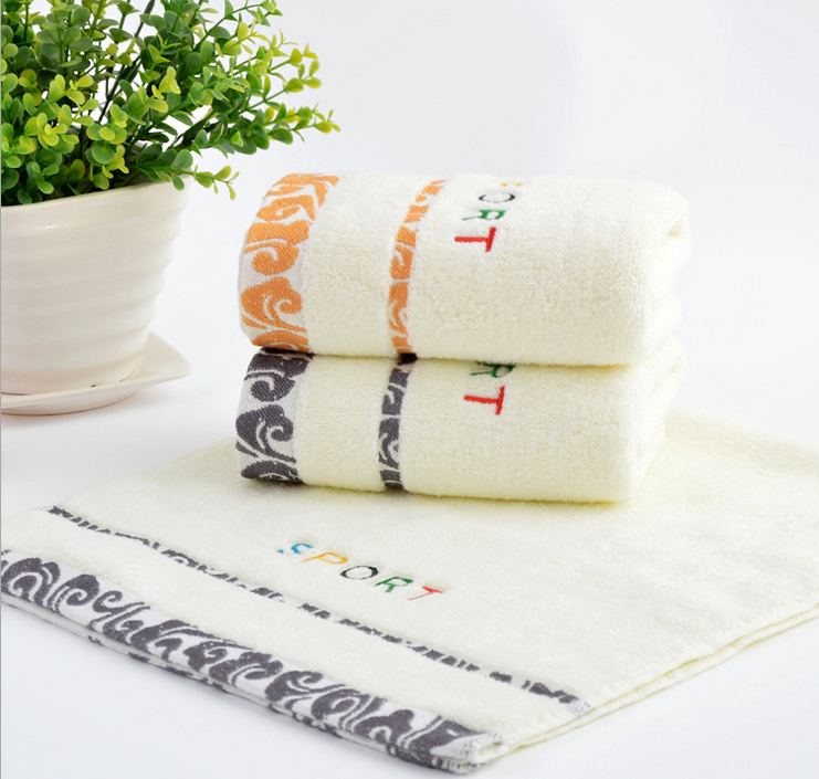 100% Cotton Face Towel Jacquard Embroidery Beach Towels On Sale Best Towels to Buy Wholesale Towels(China (Mainland))