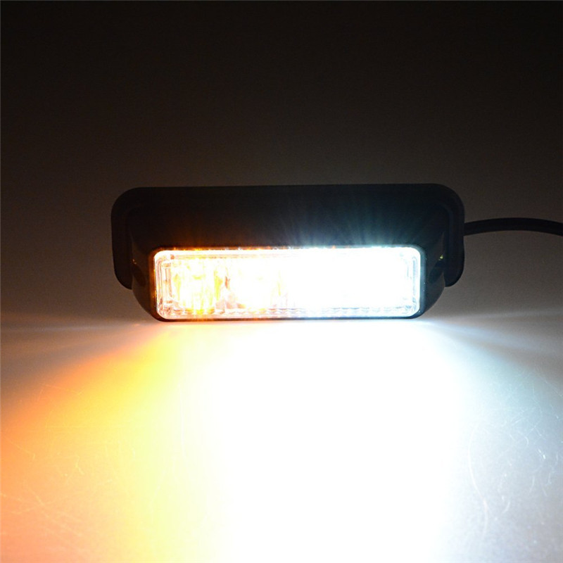 4w police strobe lights vehicle light bar car warnning lights truck. Black Bedroom Furniture Sets. Home Design Ideas