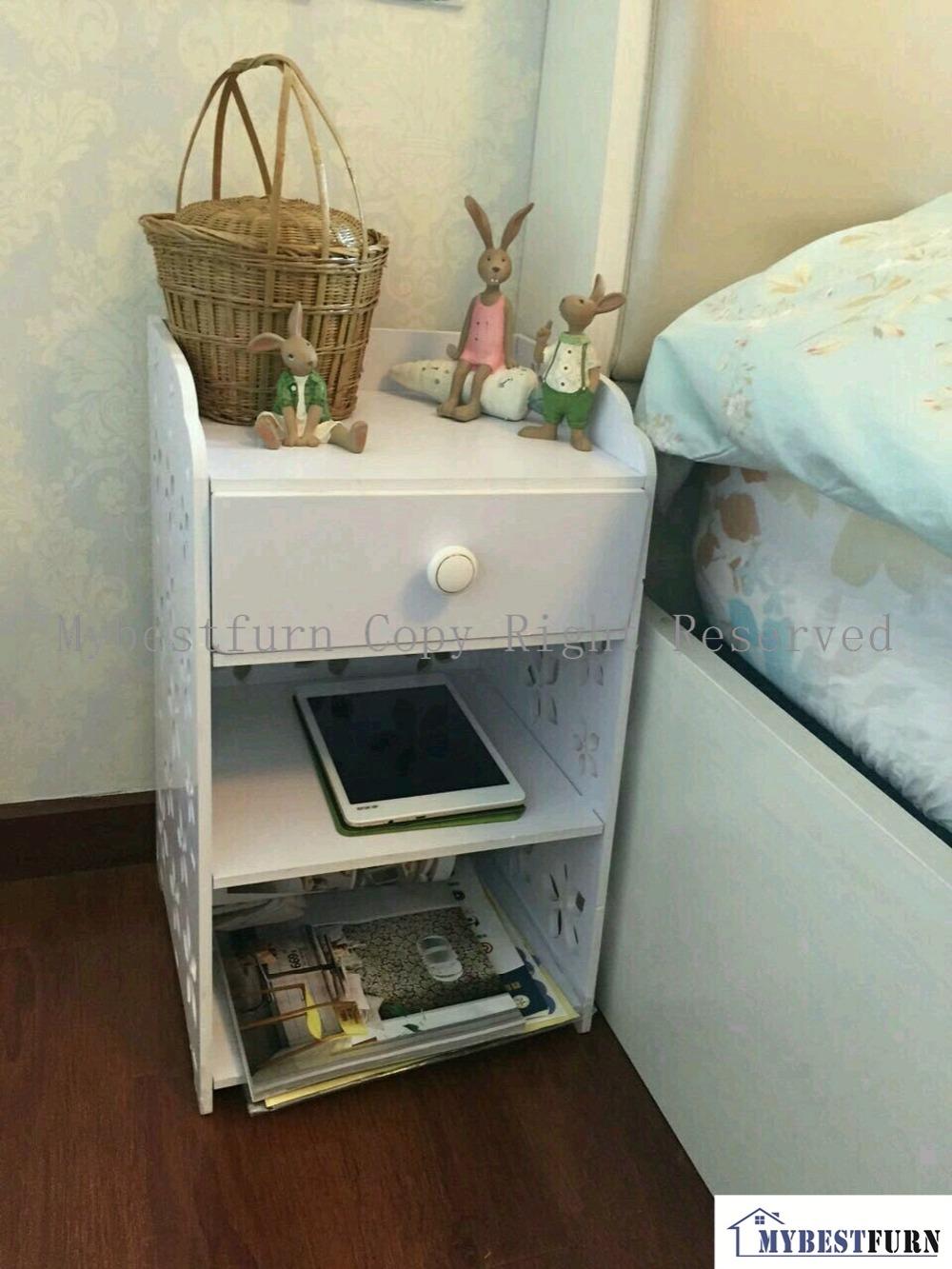 Online kopen wholesale moderne witte nachtkastje uit china moderne witte nachtkastje groothandel - Wit hout nachtkastje ...