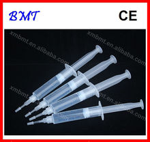 10 pcs/lot 10ml Teeth Whitening Gel Syringe Tooth Bleaching Whitern Gel 6% , 12% , 16% ,25% , 35%HP Hydrogen Peroxide / CE MSDS(China (Mainland))