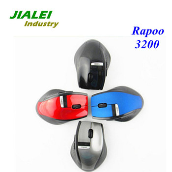 Wholesale! Brand New 2.4GHz Rapoo 3200 Ergonomic USB Wireless Mouse Optical Freeshipping!