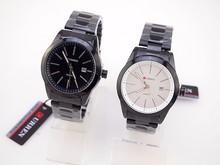 Reloj mujer marca de lujo casual Reloj moda correa de acero inoxidable de pulsera resistente al agua Reloj hombres cuarzo business watch