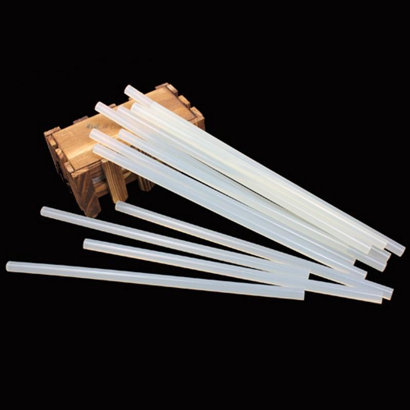 10PCS Hot Melt AdhesivesGlue Sticks 100MM x 7MM Clear Color High Quality For Glue Gun DIY Hand Made Accessories Car Audio Craft(China (Mainland))