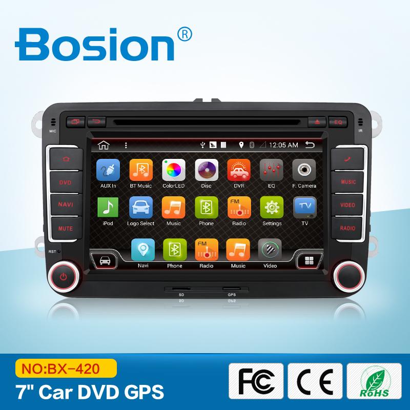 android 4.4 car dvd vw gps navigation Wifi+Bluetooth+Radio autoradio 2 din for Volkswagen GOLF 4 5 6 POLO PASSAT JETTA TIGUAN(China (Mainland))