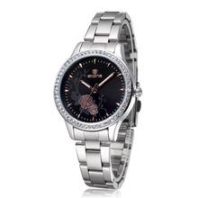 Skone Womens Watches Designer Top Brand Luxury Watch Ladies Fashion Casual Watch Women Dress Quartz Silver Watches Reloj Mujer