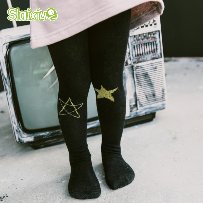 Cotton Children s Baby Tights For Kids Pantyhose Star Pattern Girls font b Boys b font