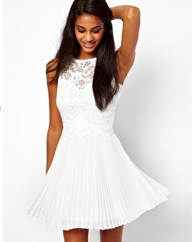 Платье С Белой Юбкой С Доставкой