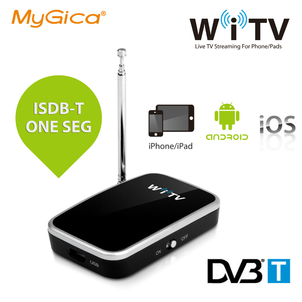 Geniatech Mygica Wi TV on your Pad/Phone/Android devices watch DVB-T TV or ISDB-T one seg(China (Mainland))