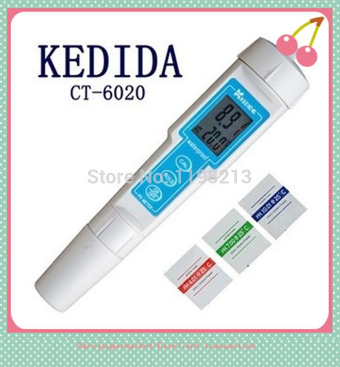 CT-6020 Waterproof PH meter Pen type digital PH meter test Portable (pH meter)