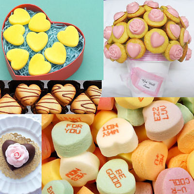 2015 Hot New DIY 55-Hearts Silicone Ice Cube Chocolate Cake Cookie Cupcake Soap Molds Mould Tool(China (Mainland))