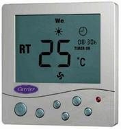 Гаджет  Carrier ventilation fan coil lcd thermostat temperature controlled switch temperature controller air conditioning panel tms910a None Строительство и Недвижимость