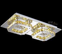 AC100-240V 44*22cm 24W Modern LED Diamond Crystal Ceiling Light Fitting Crystal Lamp Hallway Corridor decorative ceiling lamp(China (Mainland))