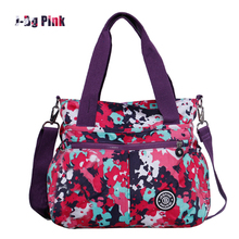 Hot Shoulder Bag Casual-Bag Nylon Waterproof Women bolsa messenger Bag Travel Sport Bags Kiple style High capacity Handbags