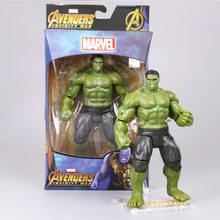 ENCAIXOTADO O 4 Vingadores: fim do jogo Super Heroes Figuras Brinquedos Thanos ron Man Capitão América Hulk Spiderman Thor Visão Soldado Inverno(China)