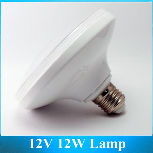 E27 12W LED Bulbs / DC 12V Energy Saving Lamps / Night Market Low Voltage DC White light(China (Mainland))