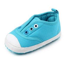 Nieuwe Mix kleur Classic Casual Canvas Baby Schoenen Pasgeboren Sport Sneakers Eerste Wandelaars Kinderen Booties Kinderen Mocassins(China)