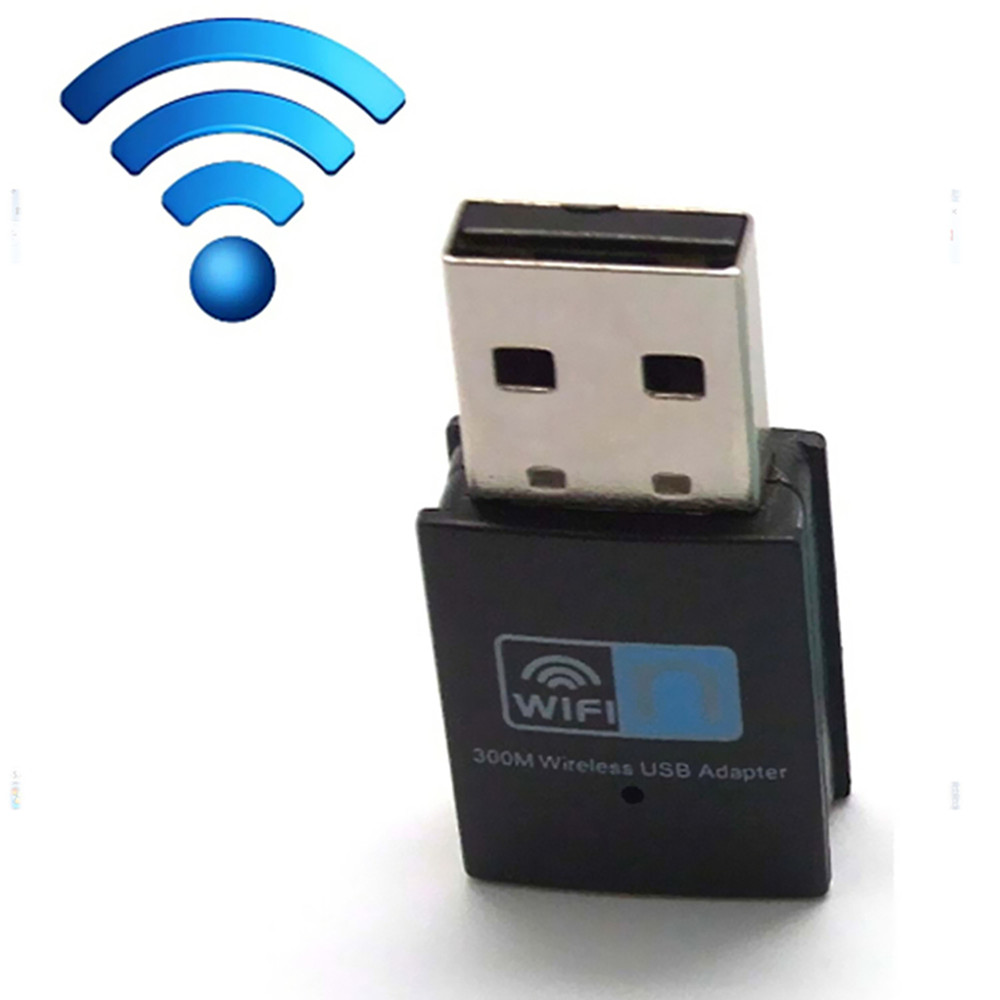 Hot sale 300Mbps Wireless network Card Mini USB Router wifi 802.11n/g/b WI-FI LAN Internet Adapter for computer Android TV Box(China (Mainland))