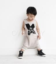 Kikikids fashion unisex Jungen und Mädchen baumwolle keinen Schlaf Brief body, baby jungen und Mädchen Cross-Muster body pls sehen unsere real pics(China (Mainland))