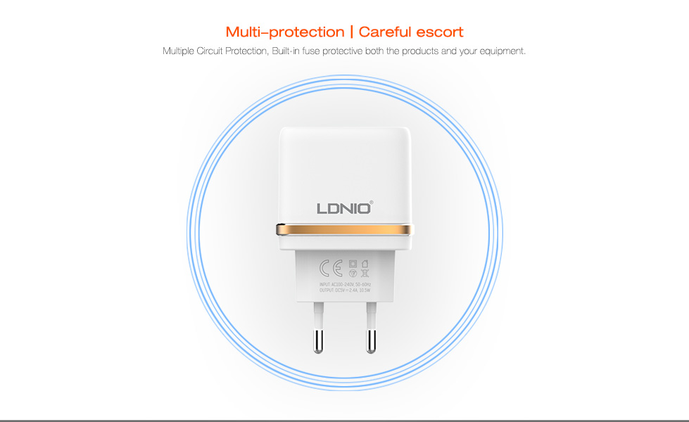 Brand 5V 2.4A Universal Travel USB Charger Adapter Wall Portable EU UK Plug Mobile Phone Smart Charger for iPhone Tablet