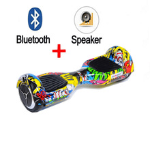 Buy Hot sale 2 wheel Self balance Electric scooter Bluetooth speaker Hoverboard Unicycle Skateboard Standing Drift hover Board for $191.88 in AliExpress store