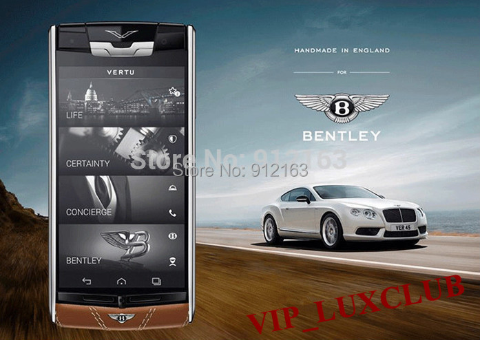 2015 Latest Luxury Phones Signature Touch Bently Limited Edition 4G LTE Octa Core Android 4.4.2,2G RAM,32G ROM,13MP Smartphones(China (Mainland))