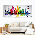 painting on canvas for new york oil paintings handpainted home decor art wall abstract painting pictures