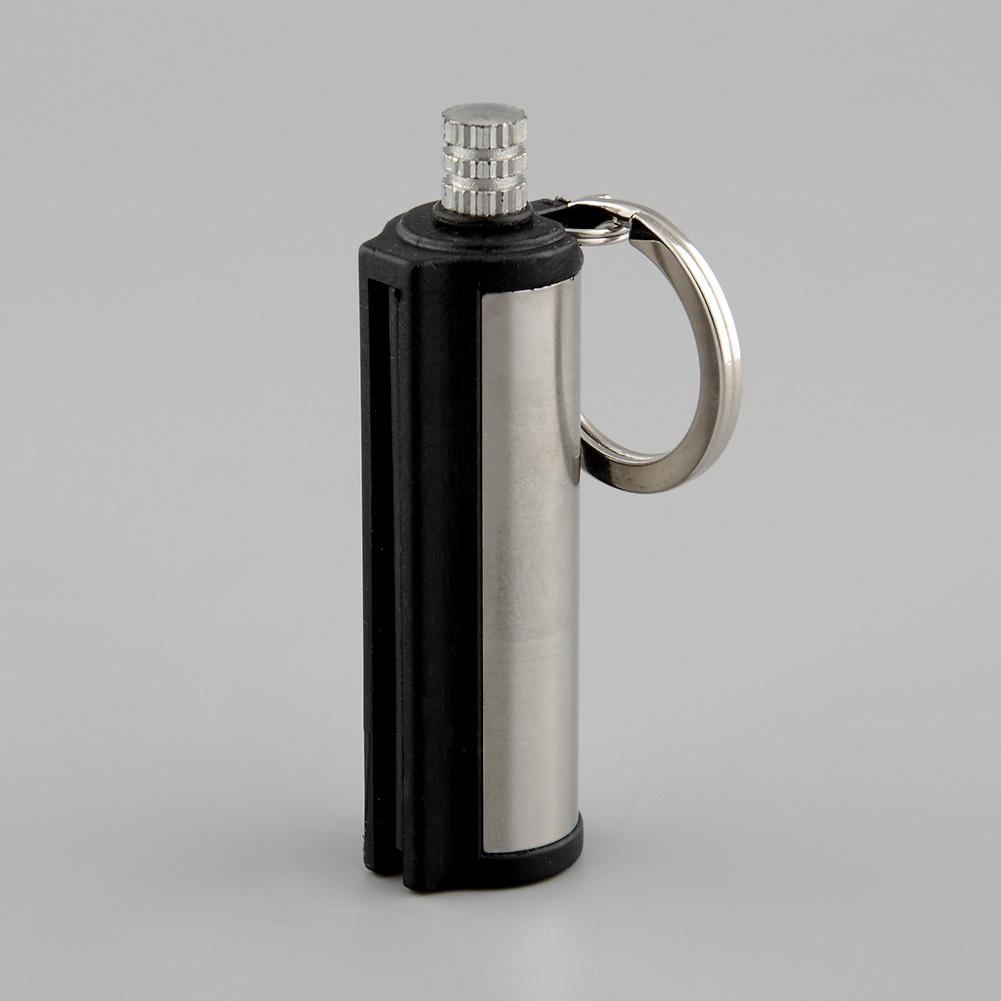 2016 Hot Sale Fire Starter Flint Match Lighter Cylinder Hiking Survival Tool Novelty Gift Safety Useful(China (Mainland))