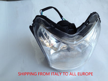 14 SHIP FROM ITALY (Italy shipping) Chinese Motrocycle Parts NewCaptain front lamp Scooter GY6 125CC Discount Low Cost