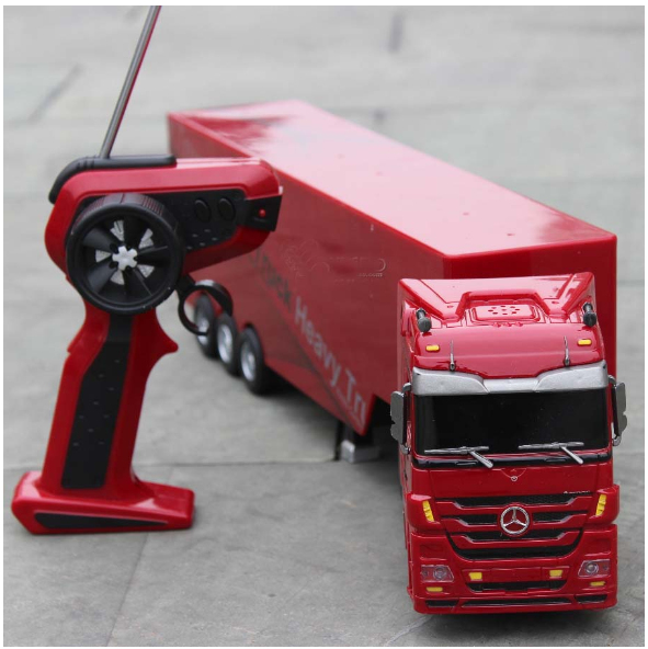Big Size Kingtoy 1:32 RC Mercedes-Benz license trailer truck with light and sounds free shipping<br><br>Aliexpress