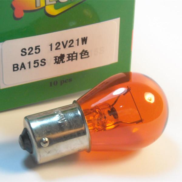 80pcs S25 ba15s amber P21W 12V 21W car light source rear lights bulb halogen lamp Eagleye CP123<br><br>Aliexpress