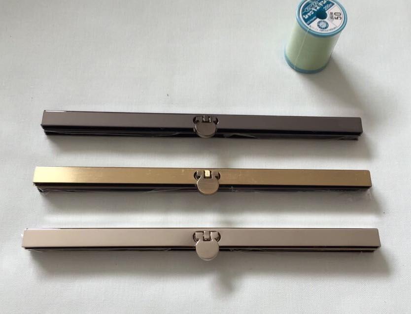 30pcs/lot 19cm Antique Bronze Gun Black Silver tone Metal Purse Frame for wallet Making DIY bags accessory(China (Mainland))