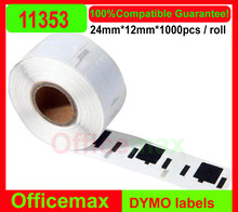 Roll DYMO barcode label adhesive labels adhesive sticker 11353,DYMO11353,DYMO 11353