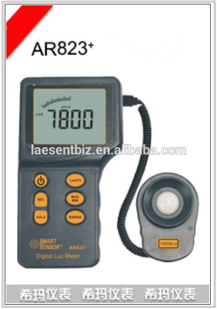 AR823 Digital Spilt Type Light Lux Meter with 1 to 100 000 Lux<br><br>Aliexpress
