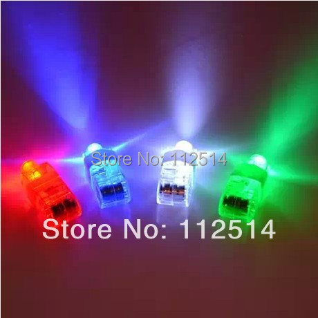 CN Free shipping 100pcs/lot LED laser finger light LED balloon light for Party KTV Bar decoration(China (Mainland))