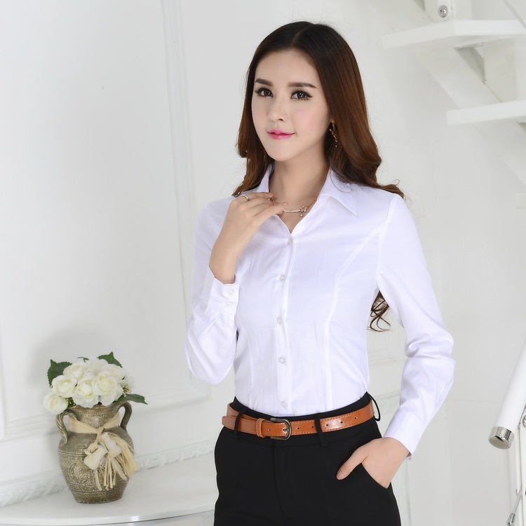 White shirt blouse womens fashion ql for White shirt for ladies